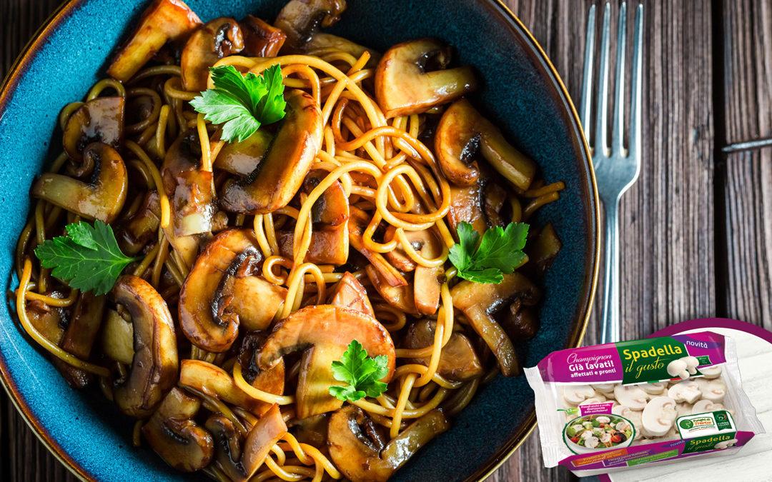 Pici toscani con Champignon