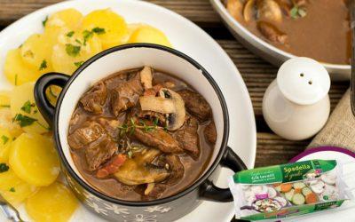 Gulash con Funghi e verdure Spadella il gusto