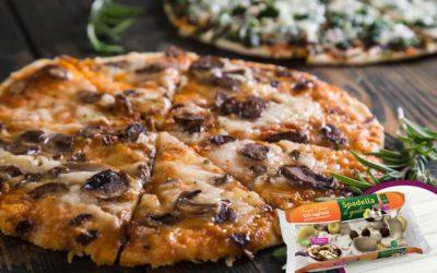 Pizza con Funghi Trifolati Spadella il gusto